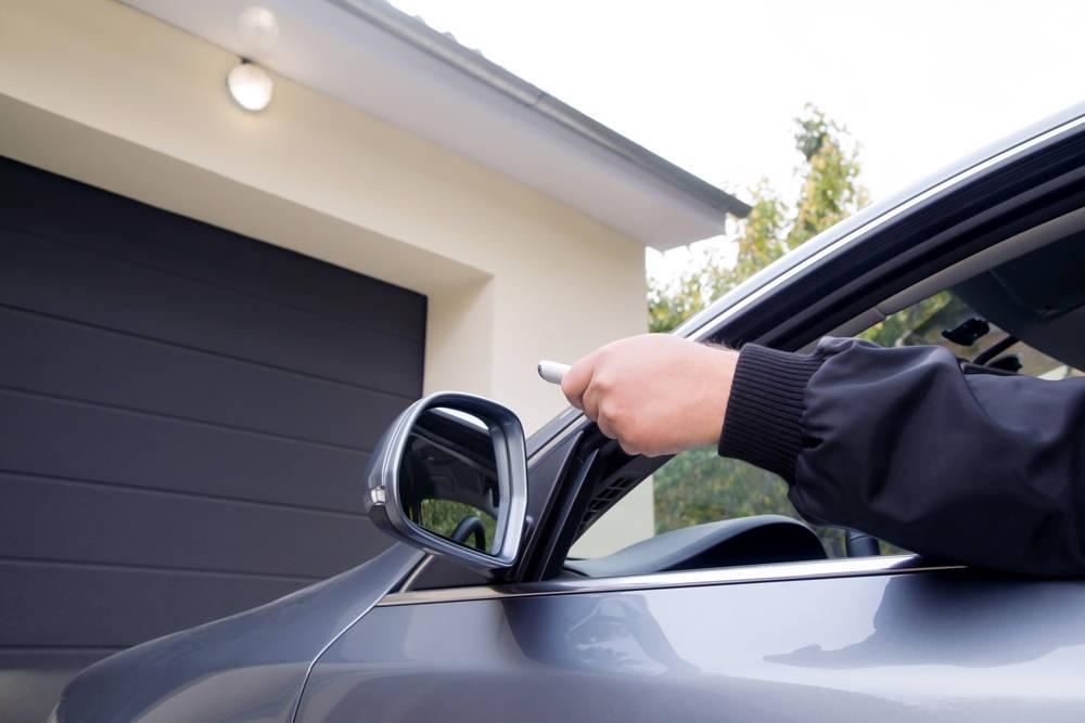 Entrar al garaje sin bajarse del vehículo