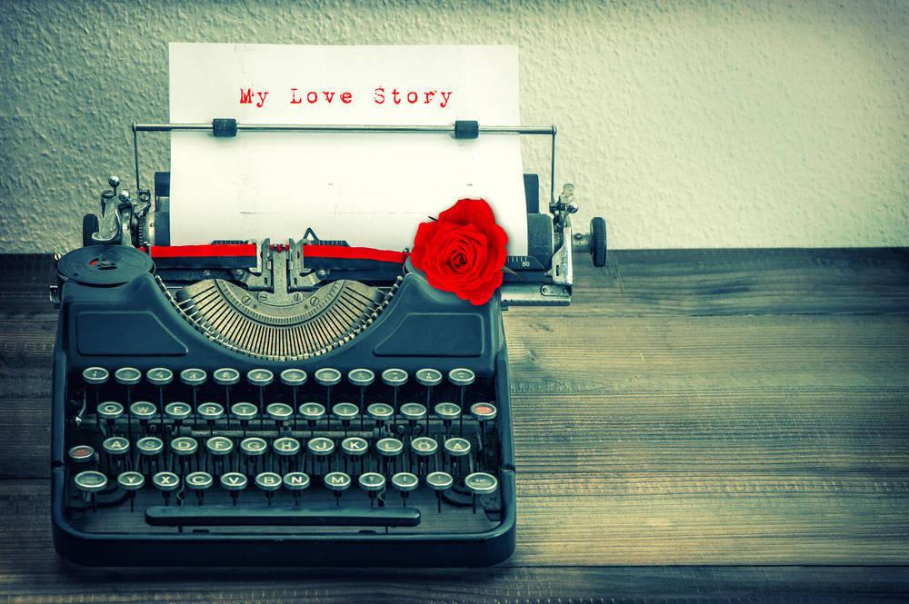 Inmortaliza tu historia de amor en forma de relato